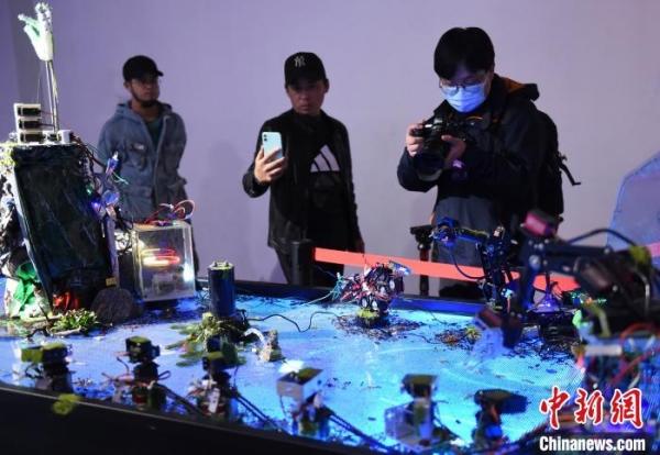 """四川美术学院举办""""破壁——艺术与科技的共生""""展庆祝80周年校庆"""
